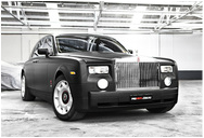 VINYL WRAPPED ROLLS ROYCE