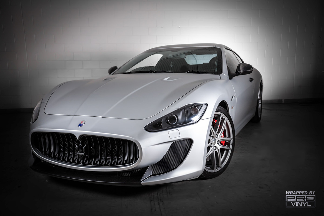 maserati mc stradale car wrapping matte