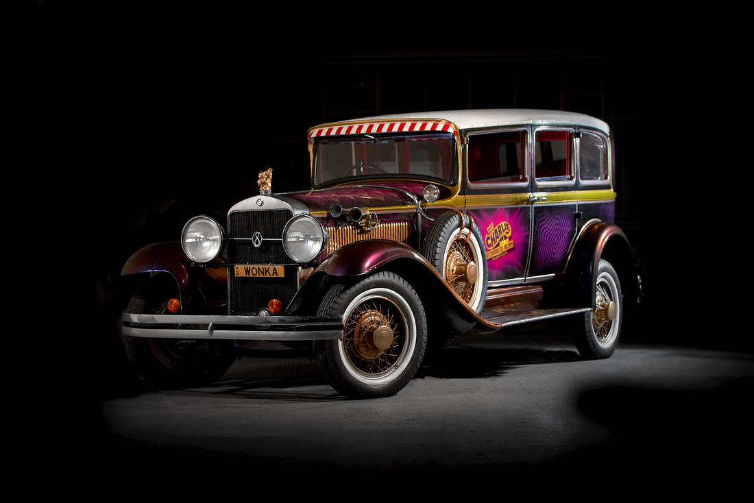 Charlie and Chocolate Factory car