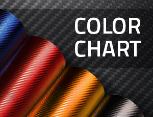 Color chart car vinyl
