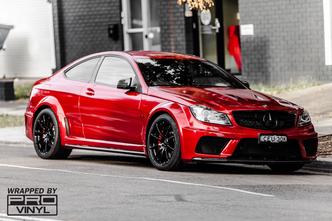 C63 AMG Black series in True Blood