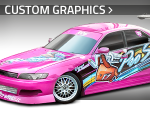 Custom graphics for cars