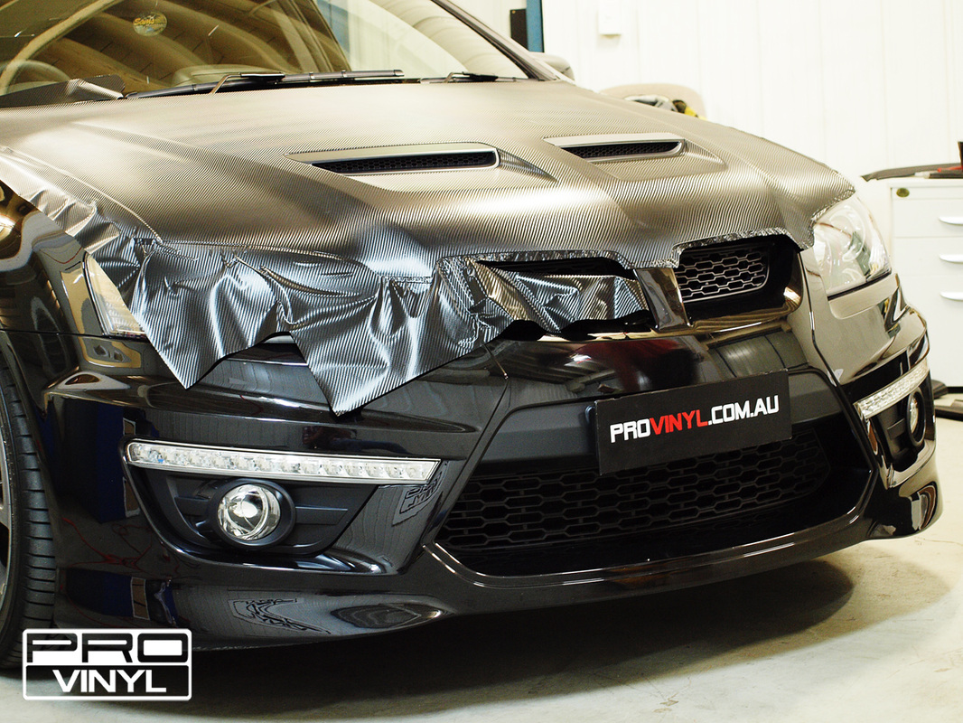 HSV Maloo Got A Carbon Fibre Bonnet