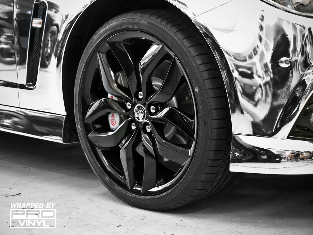 Holden Gloss Black Rims