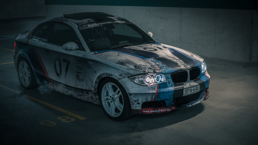 BMW 1 Series wrapped by PROvinyl