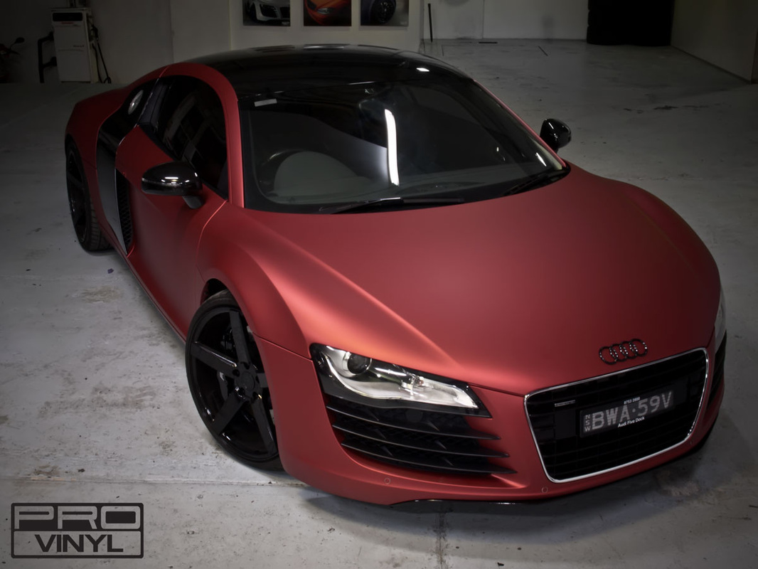 An Audi R8 wrapping | Sydney