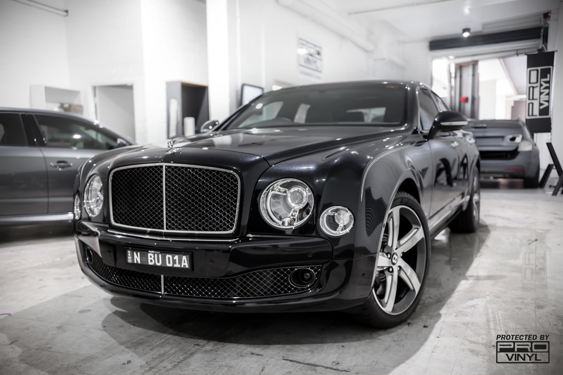 Bentley Mulsanne stone chip protection