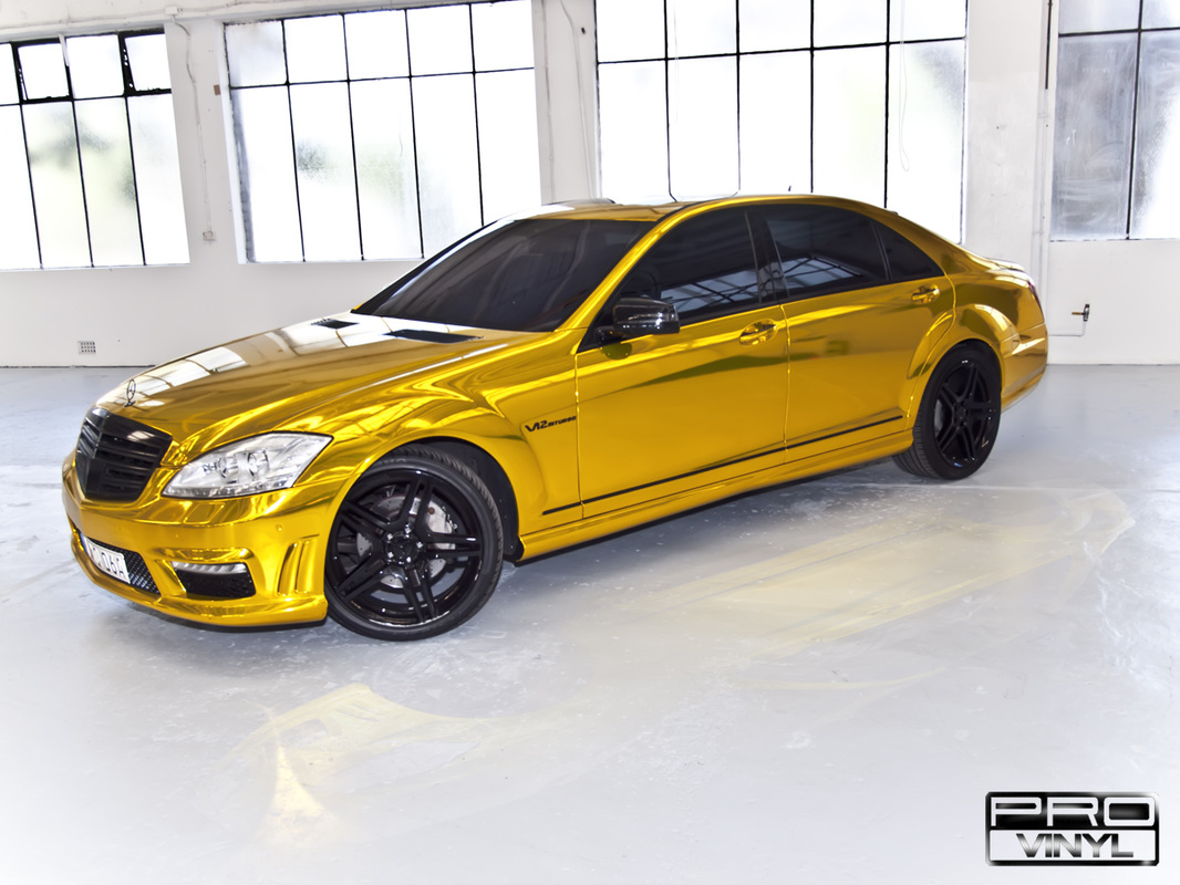 Gold AMG S65