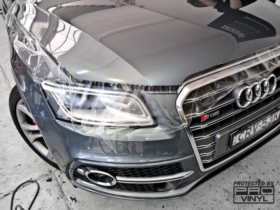 SQ5 Full front clear car bra