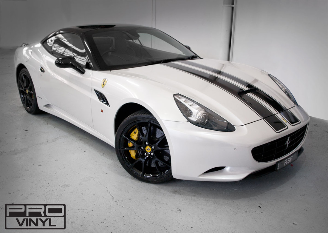 The Ferrari California  vinyl wrap | Sydney