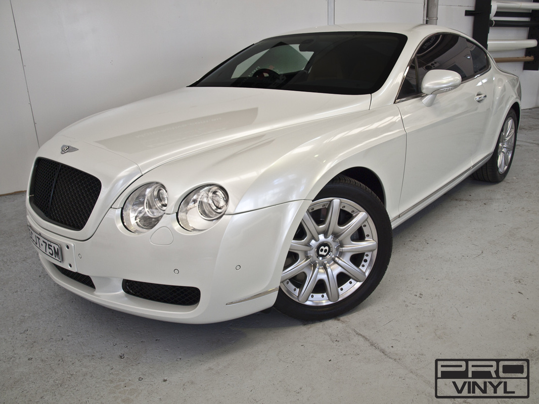 Bentley Continental GT wrapping