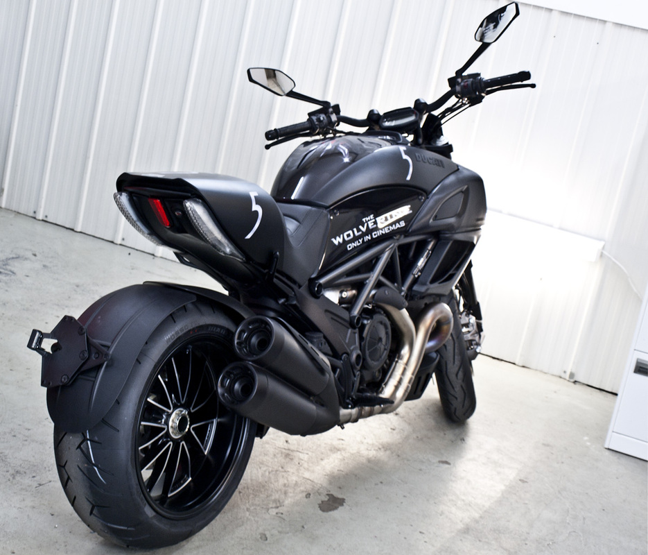 Full matte black wrap for Kawasaki | Sydney