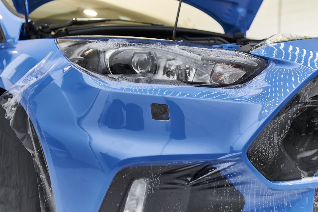 Ford RS paint protection film