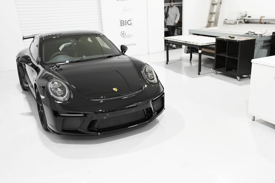 991.2 GT3 - Full paint Protection Film