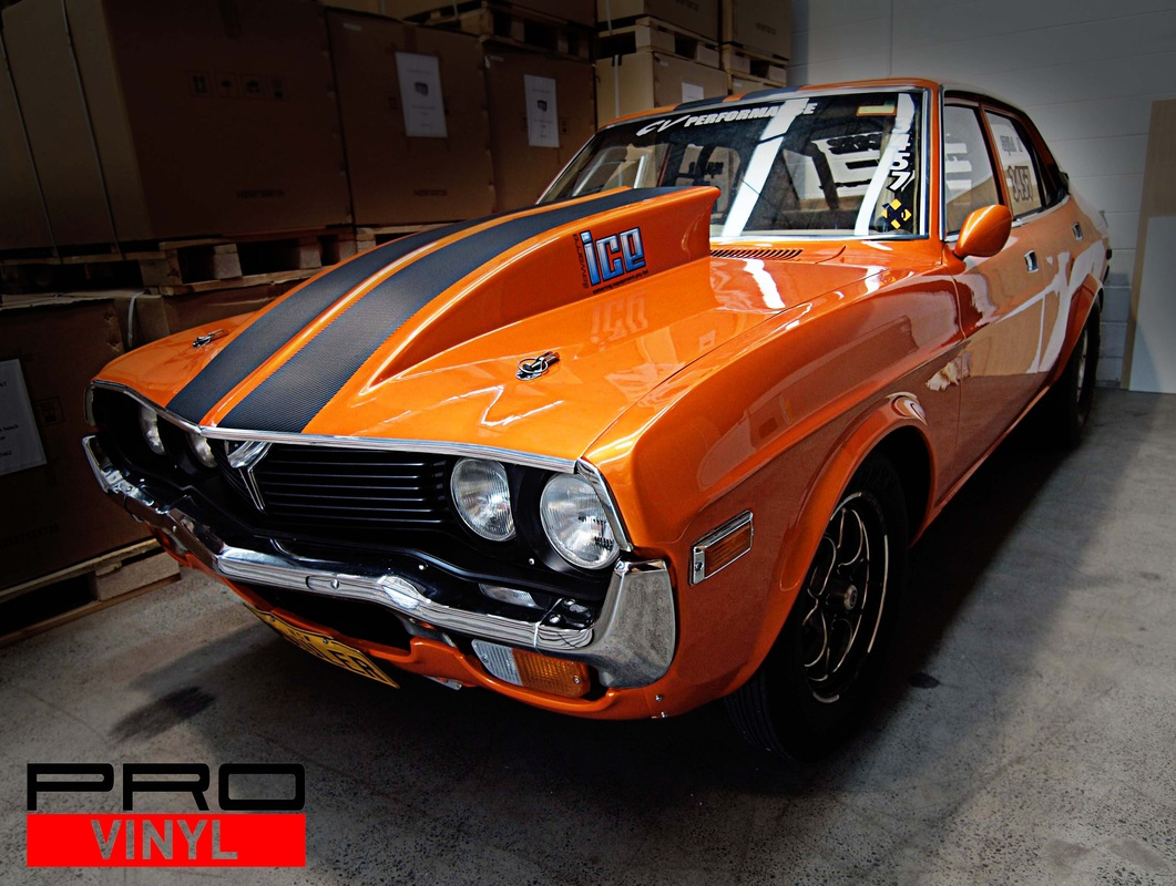 Drag racing RX-4 carbon fibre | Sydney