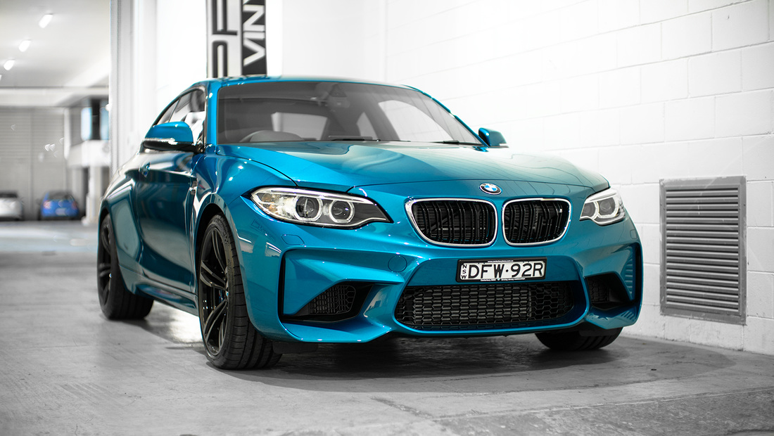BMW M2 Full Stone chip protection