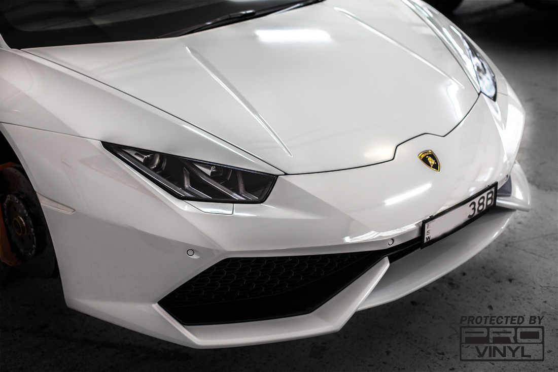 Lamborghini Huracan full body wrap