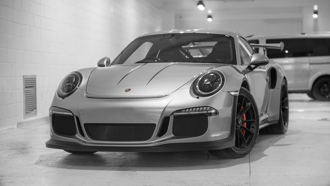 Porsche GT3RS paint Protection wrap