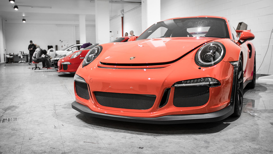 GT3RS Paint protection