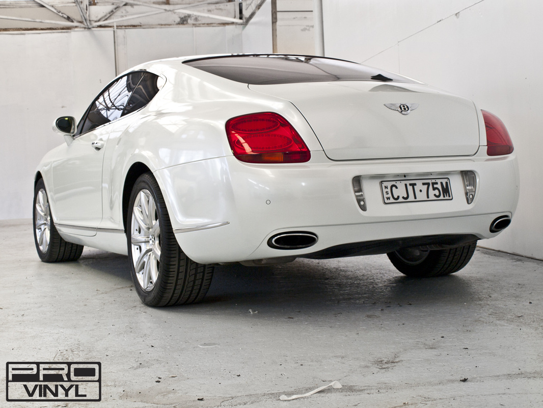 Bentley Continental GT wrapping | Sydney
