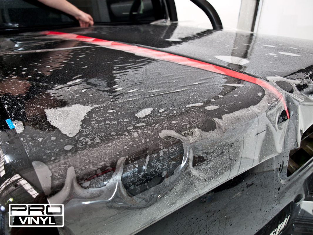 full 3M protective film wrap