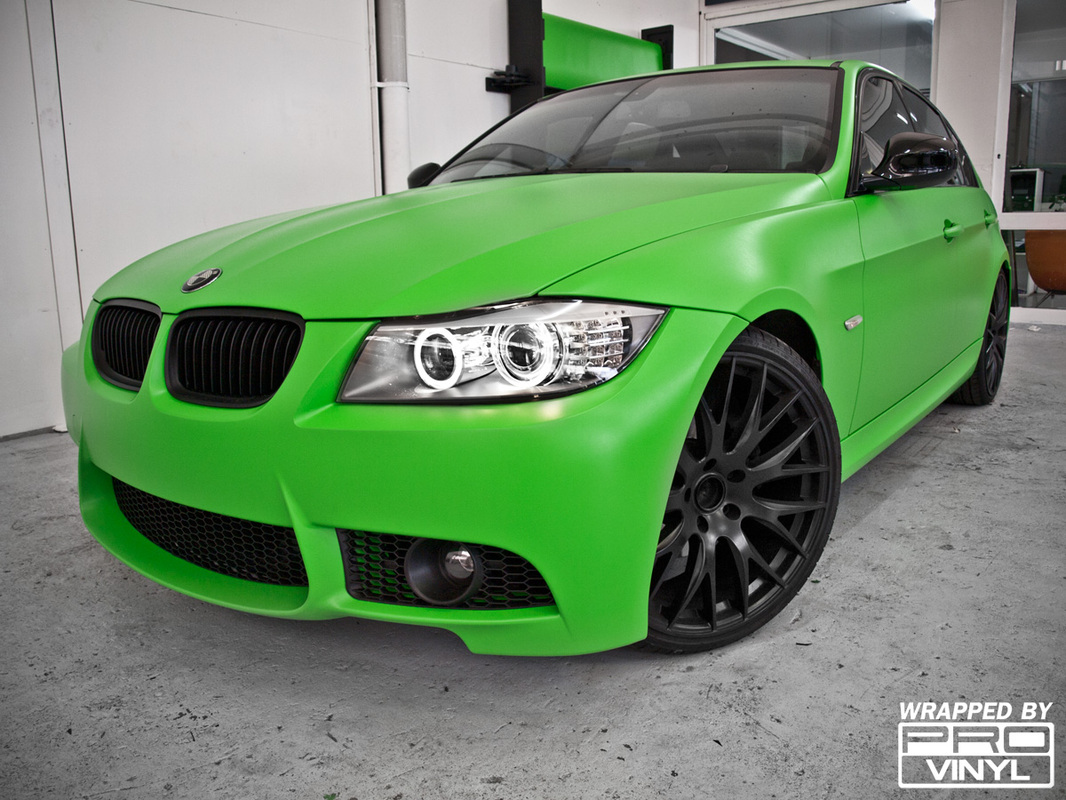 Green wrap for BMW | Sydney