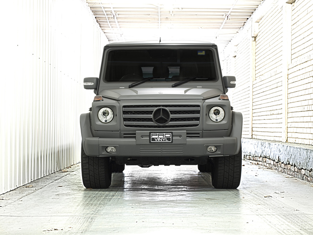 A standard full wrap in combat grey for Mercedes G CLASS AMG | Sydney